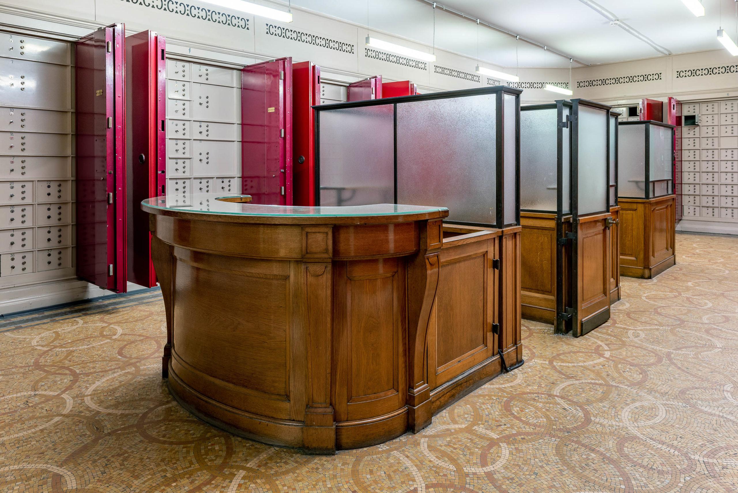 Salle des coffres - Banque de France Béthune