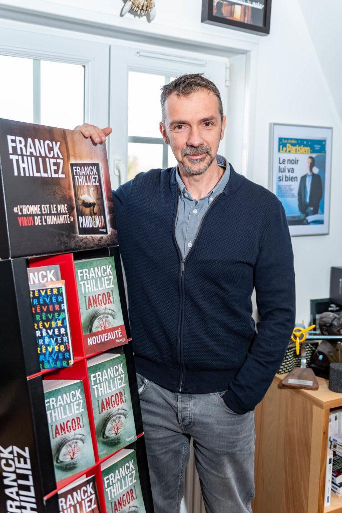 Franck Thilliez et son roman Pandemia